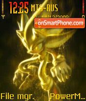 Sonic 09 es el tema de pantalla