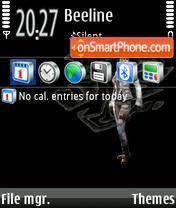 One 03 theme screenshot