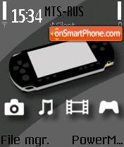 PSP 01 es el tema de pantalla