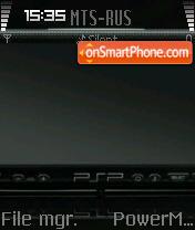 PSP 02 es el tema de pantalla
