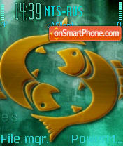Pisces 04 theme screenshot
