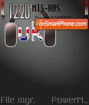Uk Music tema screenshot