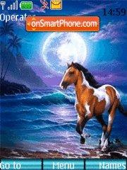 Ocean Horse tema screenshot