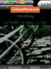 Скриншот темы Speedway 01