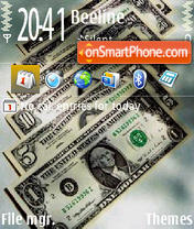 Money Dollar theme screenshot
