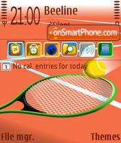 Tennis 05 es el tema de pantalla