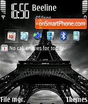 Eiffeltower default theme screenshot