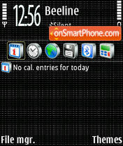 Carbon 04 theme screenshot