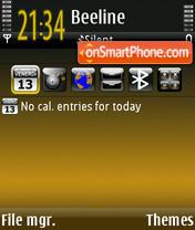 Golden Age theme screenshot