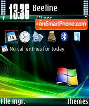 Windows V1 tema screenshot