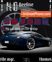 Скриншот темы Bugatti