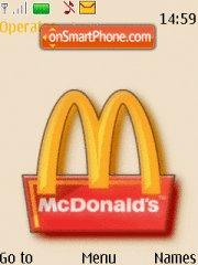 Mcdonald theme screenshot