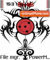 Sharinggan Tribal theme screenshot