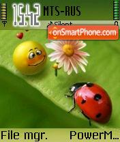 Bug Cool theme screenshot