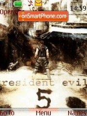 Resident Evil 08 theme screenshot