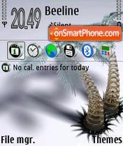 Capture d'écran Palms 01 thème
