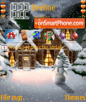 Xmas Animated theme screenshot