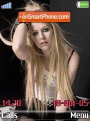 Avril 10 es el tema de pantalla