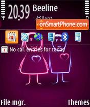 Love 24 theme screenshot