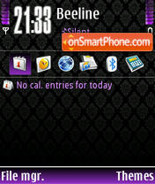 Style Purple theme screenshot