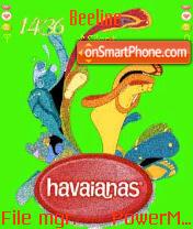 Havaianas theme screenshot