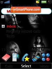 Dark Gerl theme screenshot
