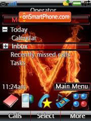 Name M theme screenshot