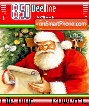 Скриншот темы Santa brought Gifts