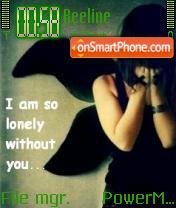 Without U es el tema de pantalla