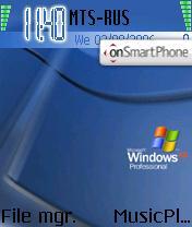 Windows XP Pro theme screenshot