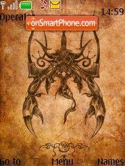 Scorpio tema screenshot