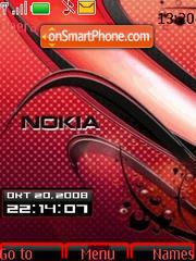SWF Red Nokia theme screenshot