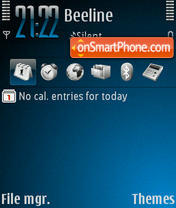 Xperiment 1.2 theme screenshot