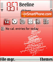 Natale 2007 theme screenshot