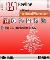 Natale 2007 Theme-Screenshot