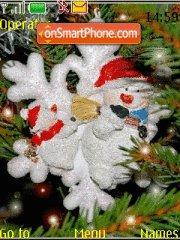 Christmas Tree tema screenshot