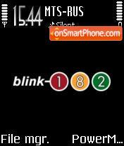 Скриншот темы Blink 182 05