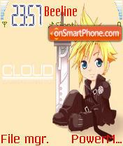 Chibi Cloud theme screenshot