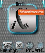 I Phone theme screenshot