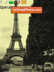 Eiffel 01 tema screenshot