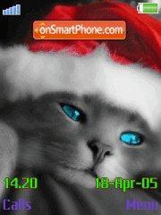 Santa Cat es el tema de pantalla