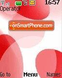 Red impression theme screenshot