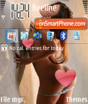 AndieValentino theme screenshot