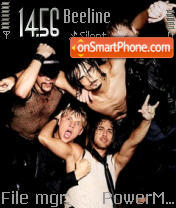Backstreet Boys 03 tema screenshot