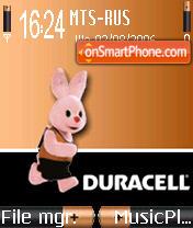 Duracell theme screenshot