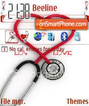 Animated Love Heart 02 es el tema de pantalla