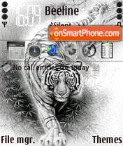 White Tiger 04 theme screenshot