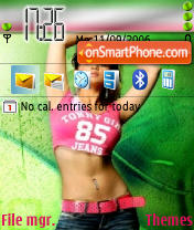 Sexy 01 theme screenshot