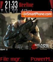 Gears of War v2 es el tema de pantalla