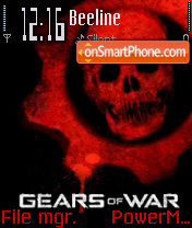 Gears of War v3 es el tema de pantalla